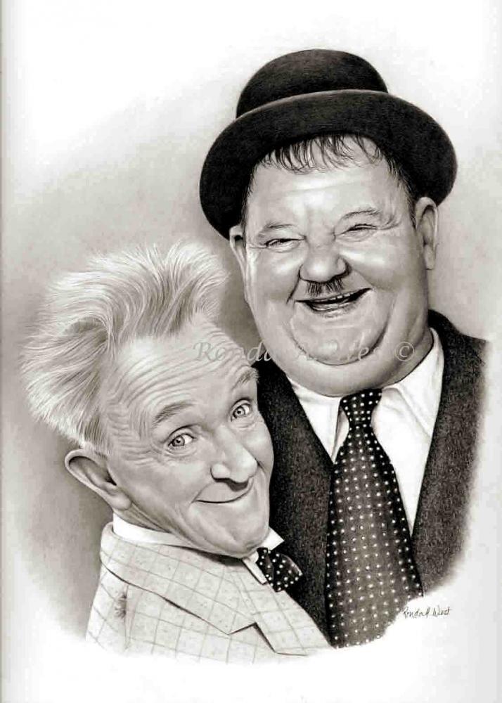Stan Laurel, Oliver Hardy par rondawest